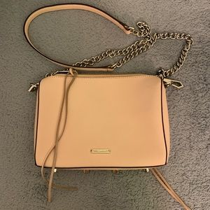 Rebecca minkoff pink Avery bag
